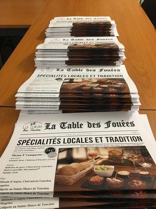 LA TABLE DES FOUÉES, SAUMUR