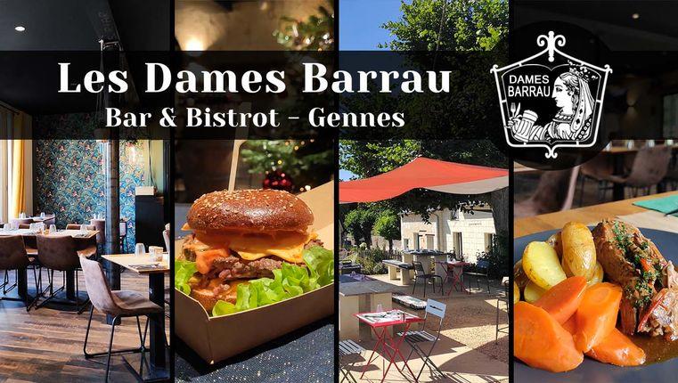 BISTROT BAR LES DAMES BARRAU, GENNES VAL DE LOIRE