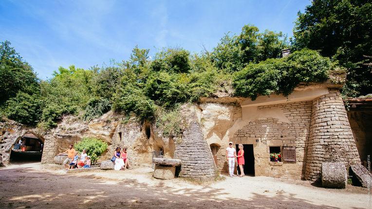 Coffret Week-end Château, Troglo, Dodo, SAUMUR