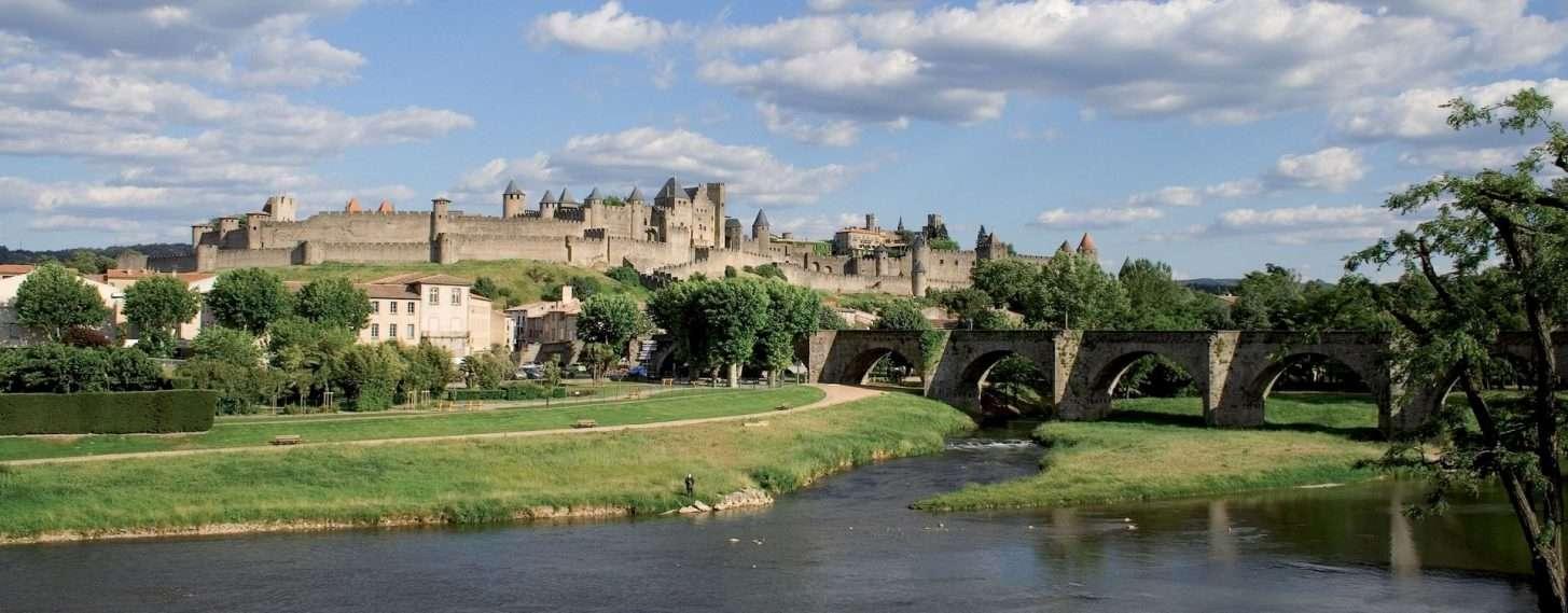 Carcassonne, Cité et pont vieux © Mairie de Carcassonne