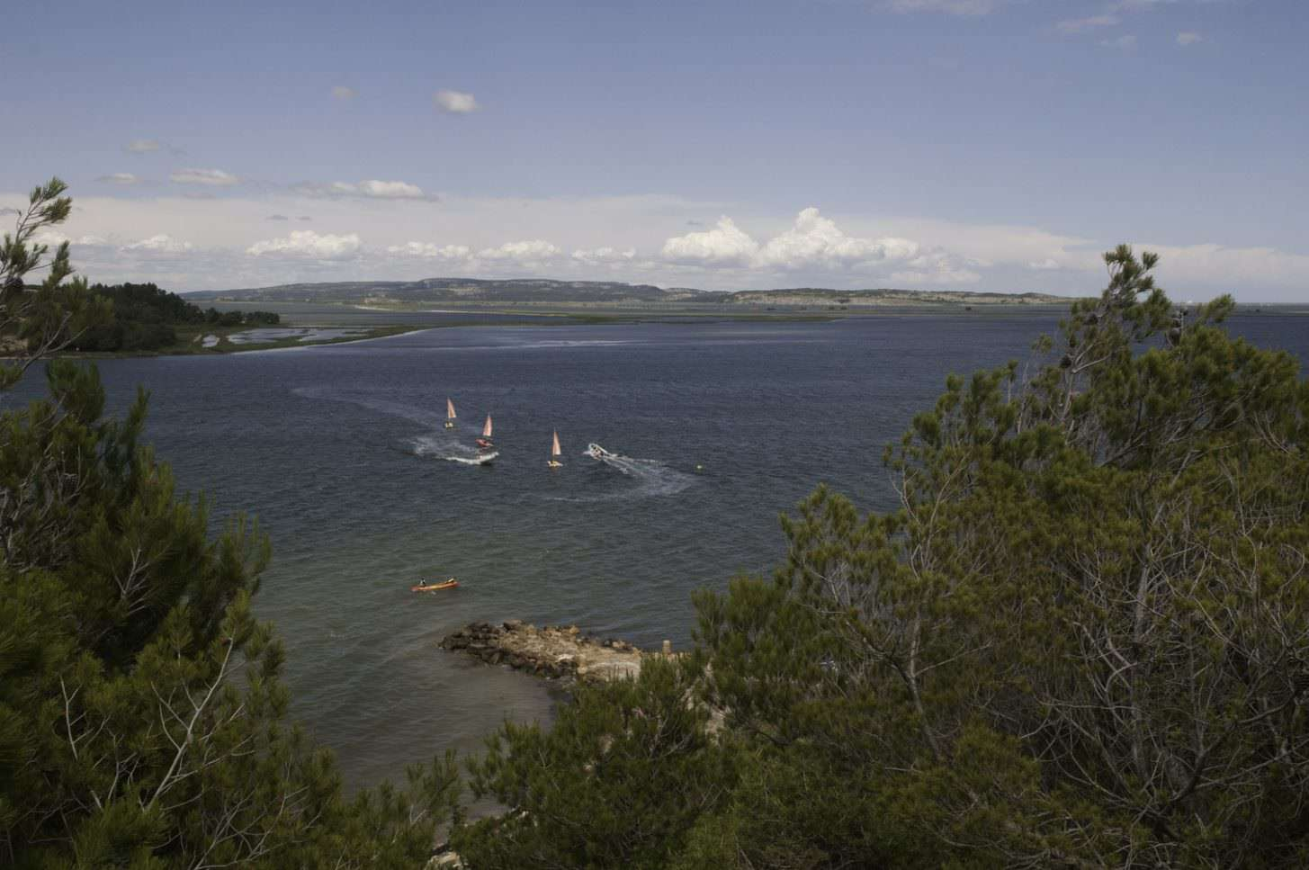 Port Mahon sur l'étang de Sigean, crédit Nomah