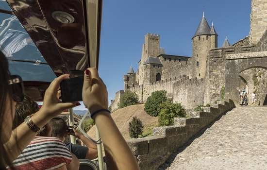 PETIT TRAIN DE LA CITÉ DE CARCASSONNE
