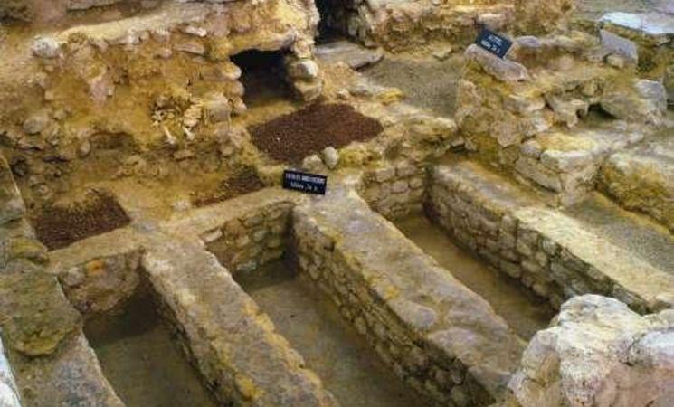 Collégiale Sainte-Gertrude - sous-sol archéologique