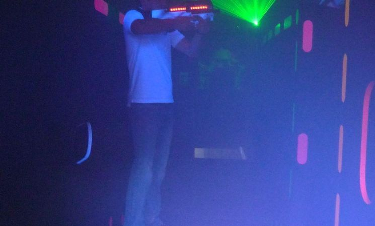 Laser magique - fusil