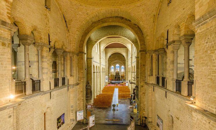 Collegiale Sainte-Gertrude Intérieur