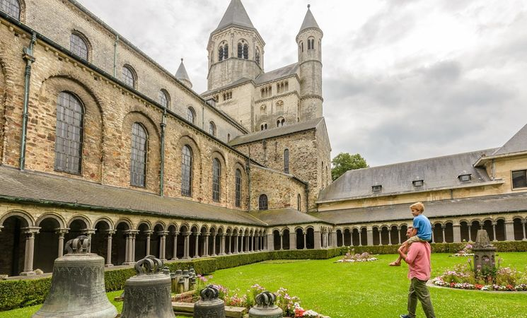 Collegiale Sainte-Gertrude Cloitre