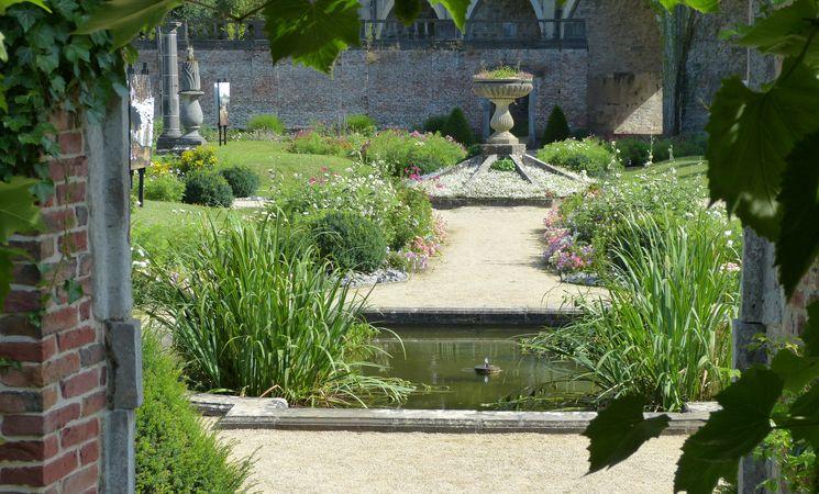 Abbaye de Villers-la-Ville jardins