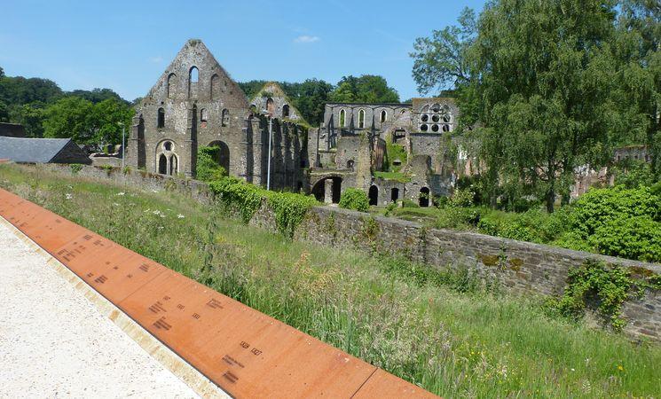 Abbaye de Villers-la-Ville ligne du temps