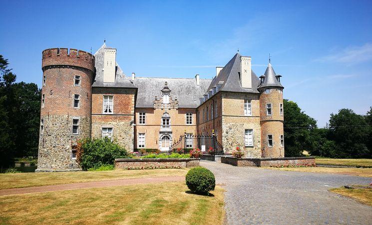 Château des Comtes de Hornes - face avant