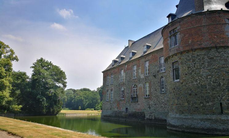 Château des Comtes de Hornes - vue arrière