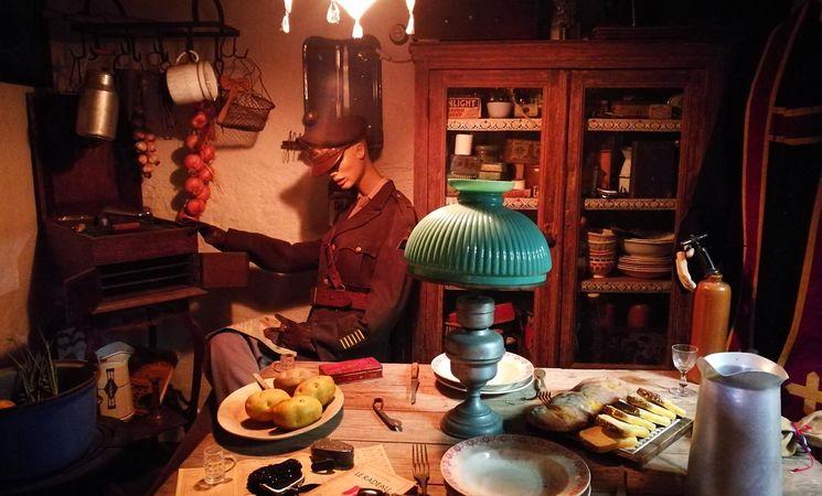 Musée du Souvenir 40-45 - intérieur maison