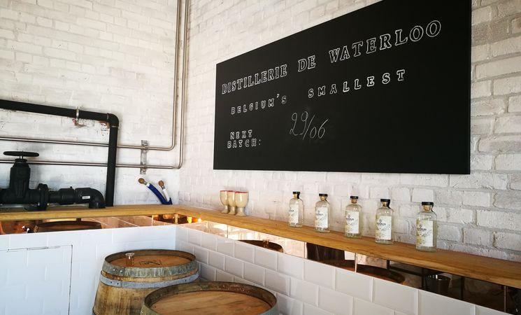 Micro-distillerie Ferme de Mont-Saint-Jean