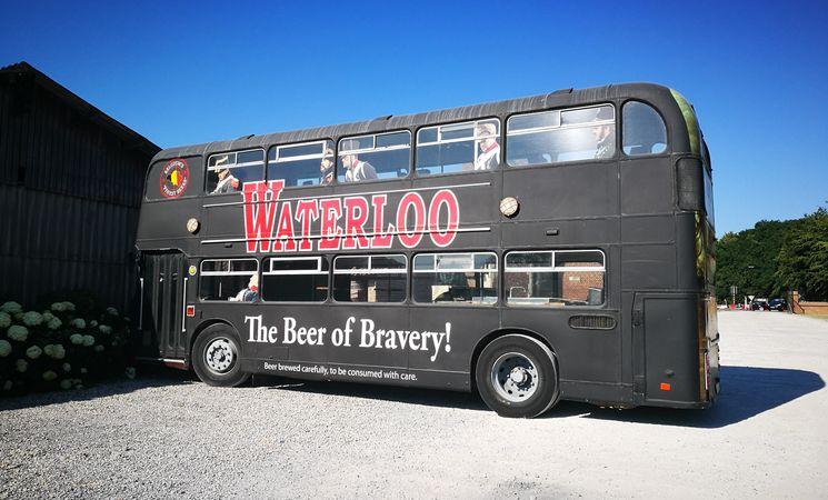 Bus Waterloo Ferme de Mont-Saint-Jean