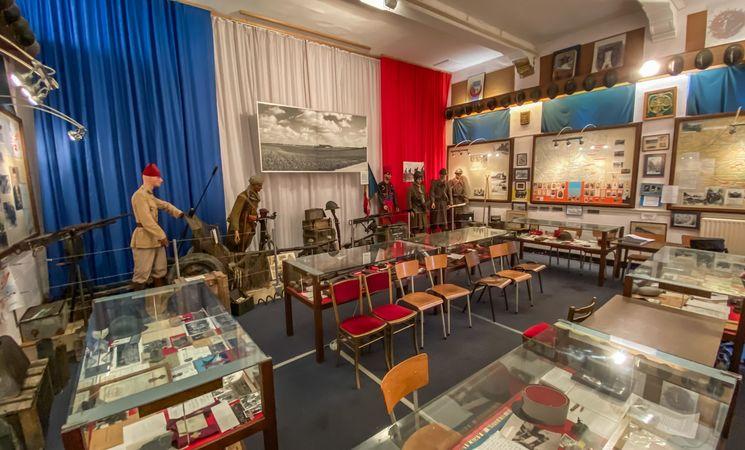 Musée Français de la guerre - Chastre © MTBW (2)