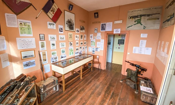 Musée du Corps de Cavalerie français © MTBW-V. André