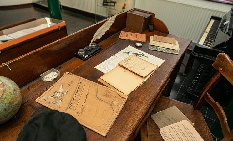 Musée Armand Pellegrin_table