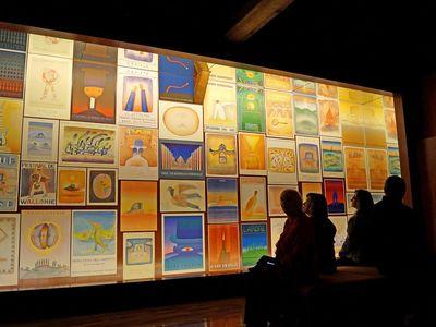 "Tentoonstelling ""De Affiches van Folon"" in de Stichting Folon."