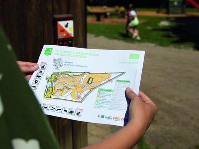 Parcours d'orientation au Bois des Rêves