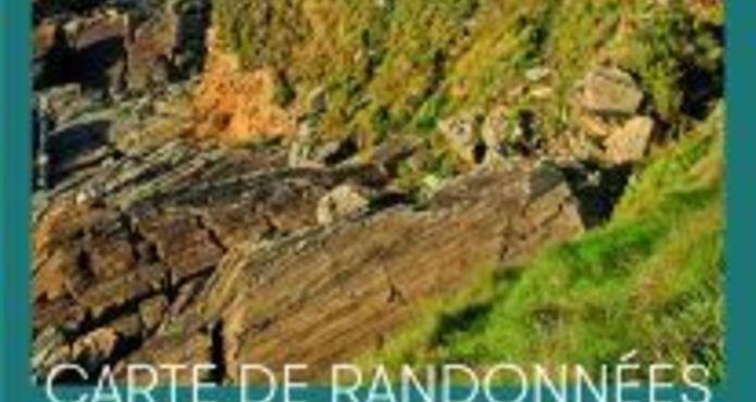 Carte de randonnée Lannion -Lieue de Grève -Vallée du Léguer