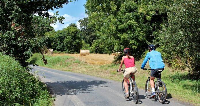 cyclos sur Tour du Leff