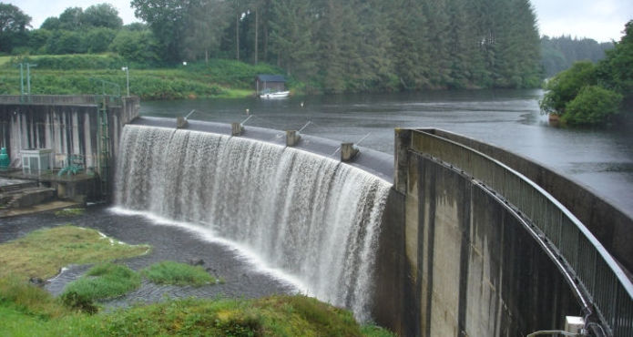 pedestre-lanrivain barrage