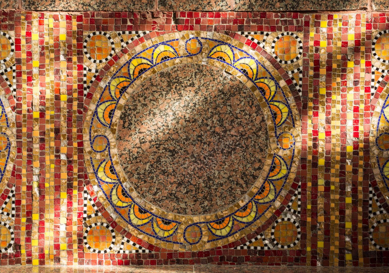 Chapelle St Yves_Saint-Brieuc_detail mosaiques