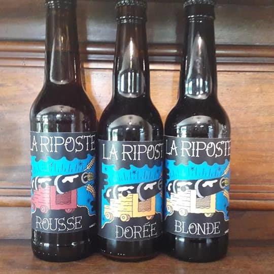 3 bouteilles Riposte