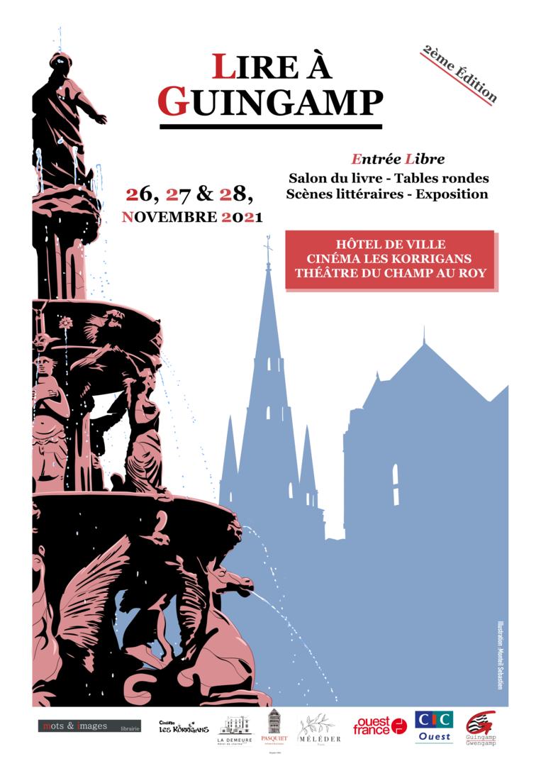 Salon Lire à Guingamp