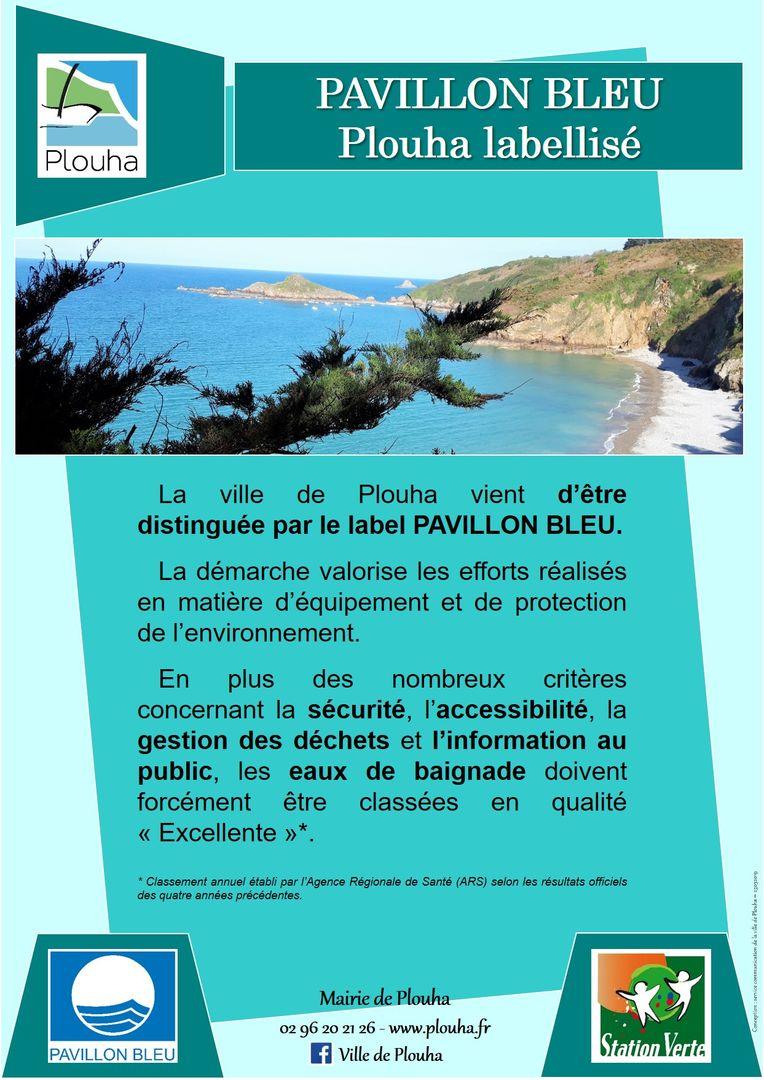 Affiche-Plouha-labellise-Pavillon-bleu