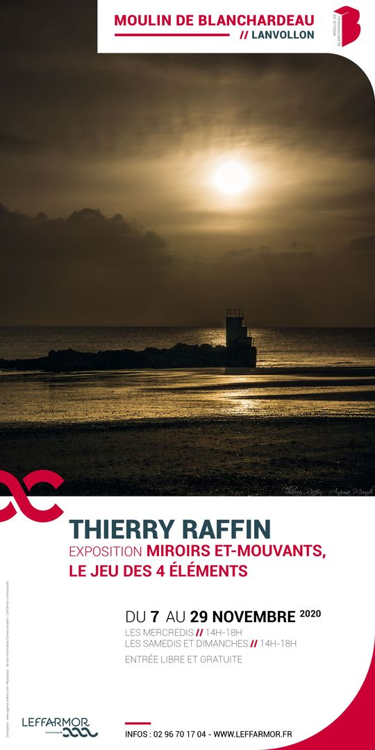Affiche expo Thierry Raffin