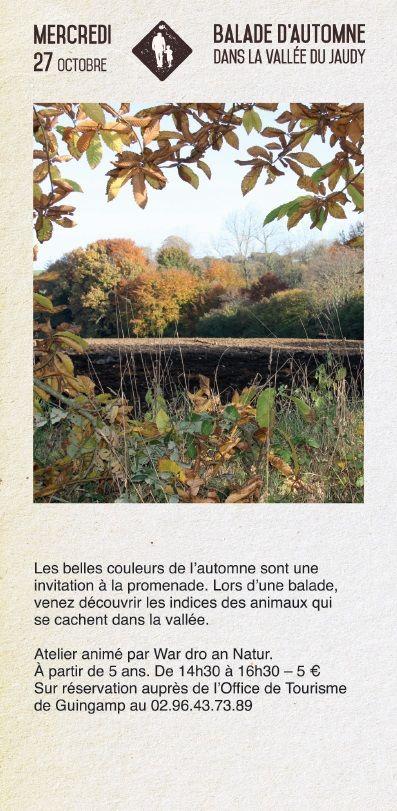Balade d'automne au Palacret