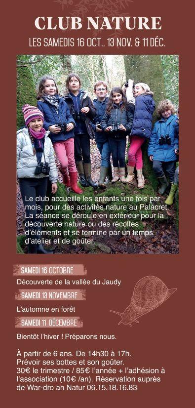 Club nature du Palacret