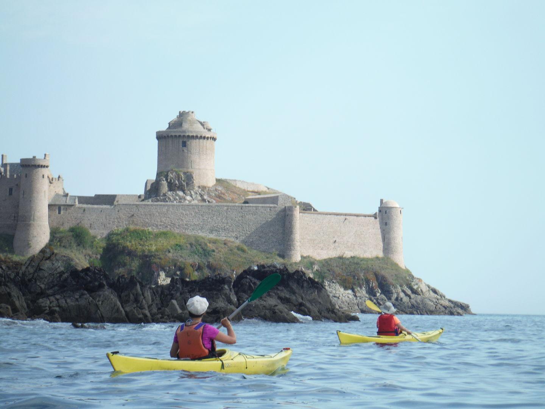 Kayak de mer Fort Lalatte