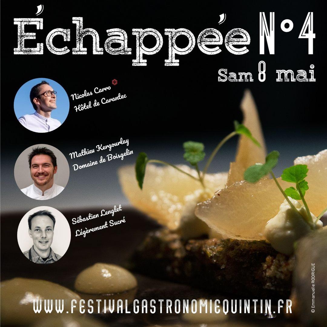 ECHAPPEE N°4 affiche