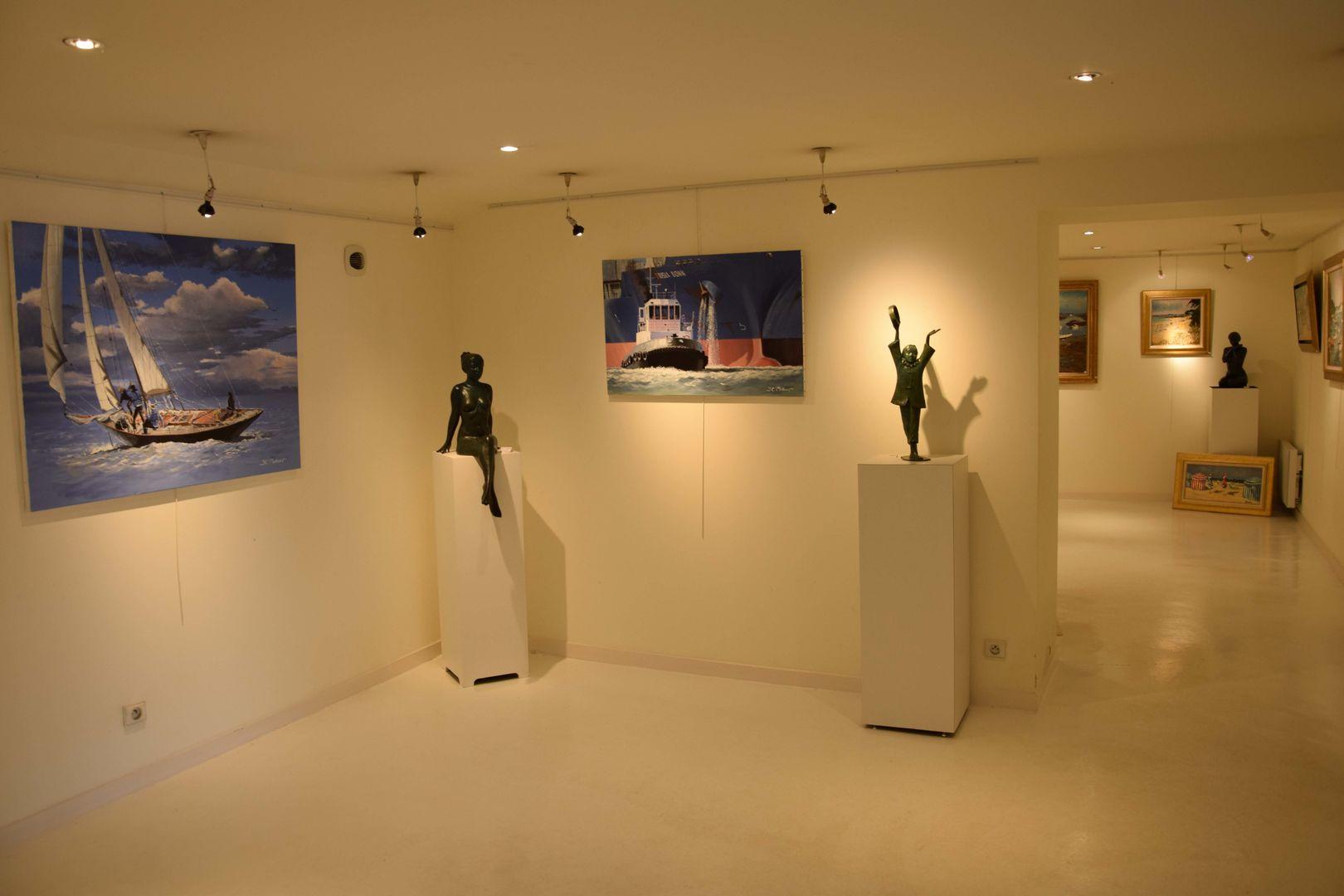 Galerie d'Art Athéna interieur Marie Hellier 8 mo