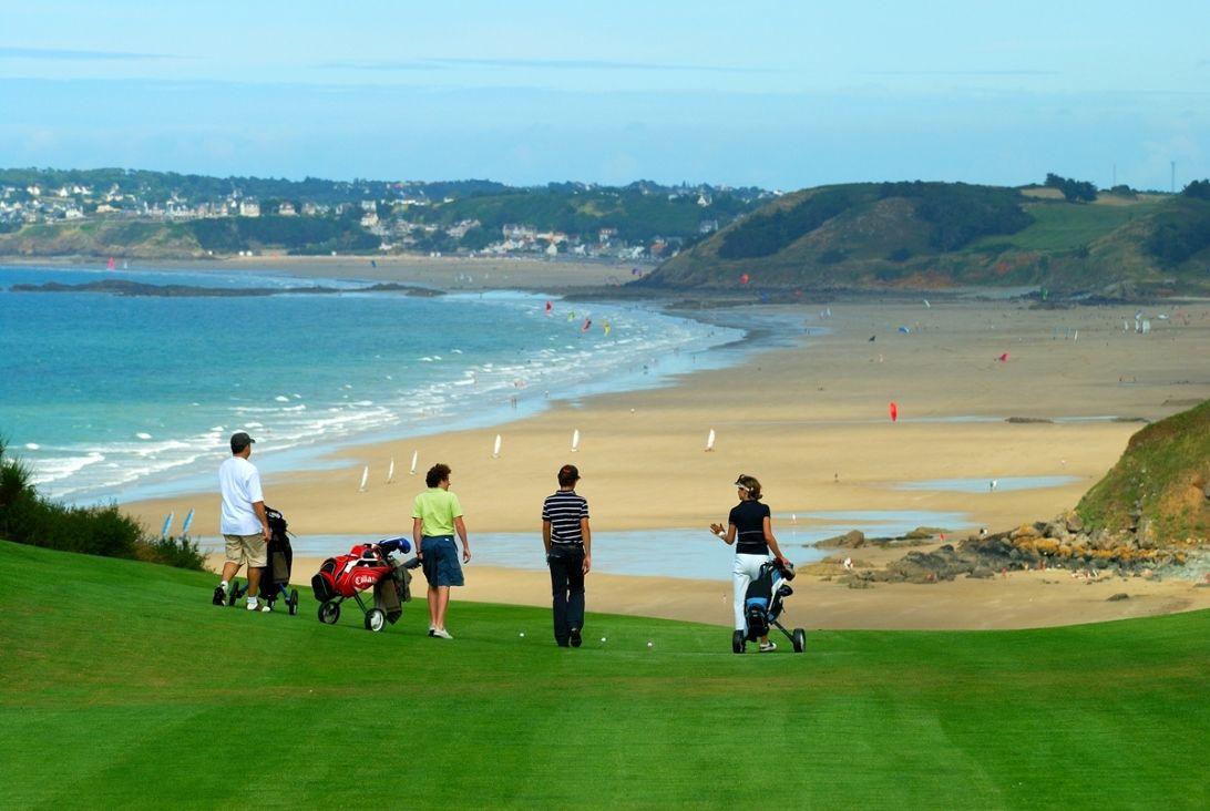 Golf Blue Green
