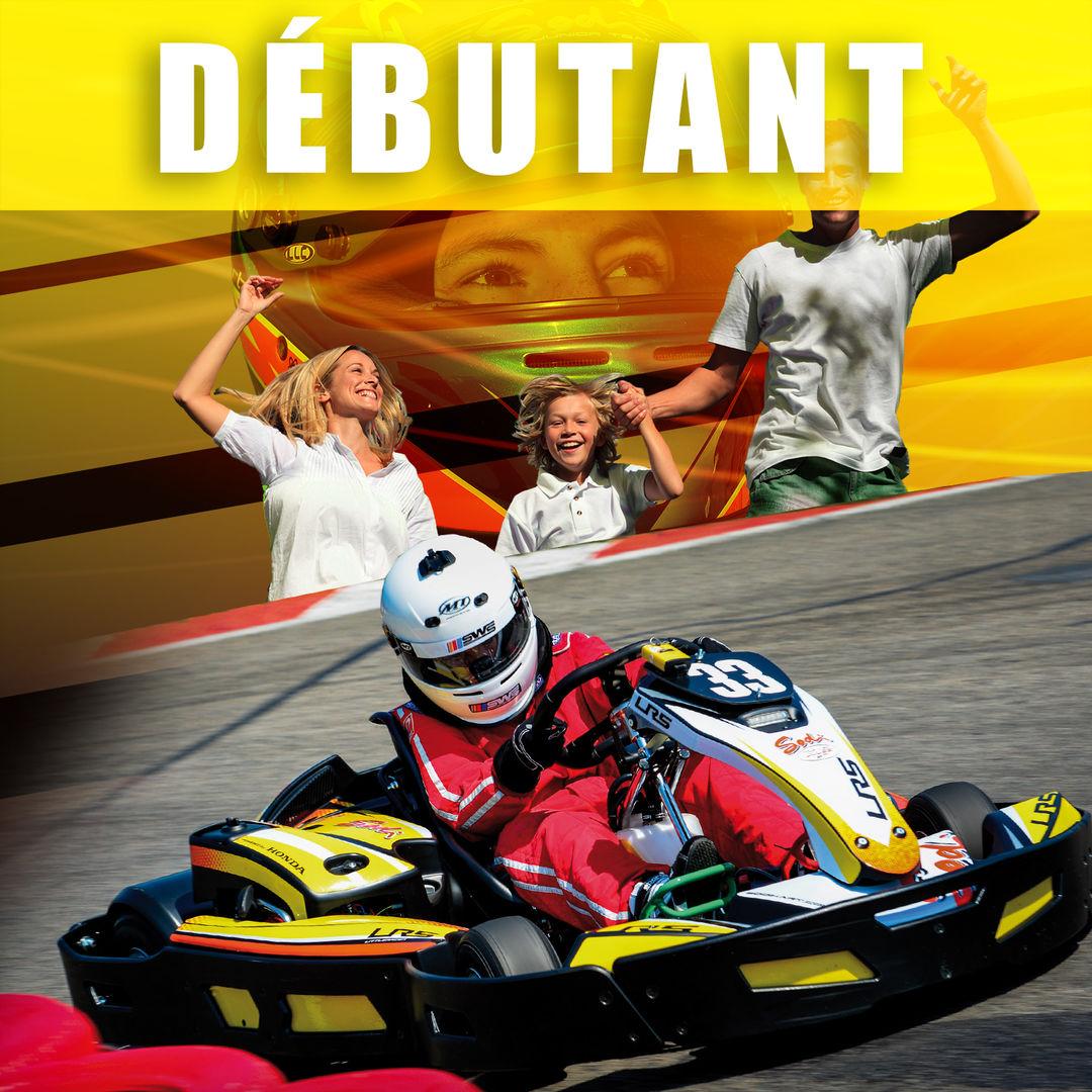 Karting-debutant