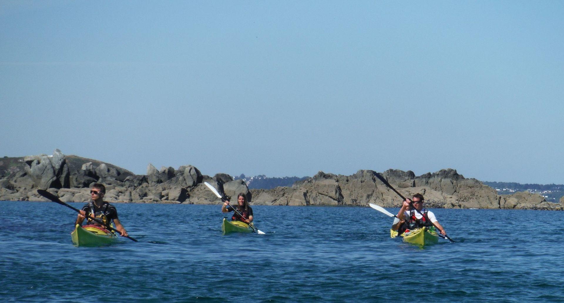 Kayak Plancoët - Kayak de mer aux Ebihens