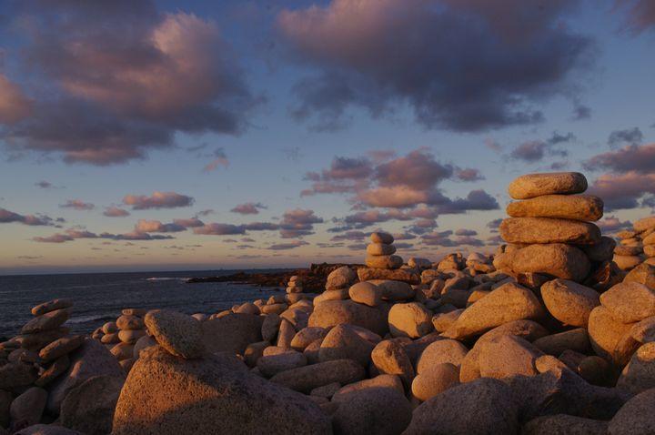 Land Art Galets Ile Grande (30)