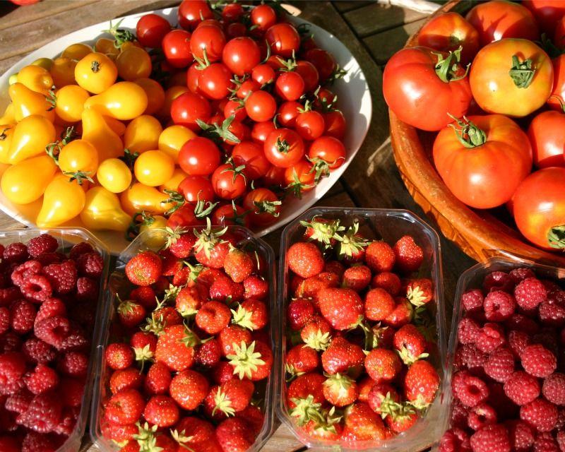 Marché fruits site
