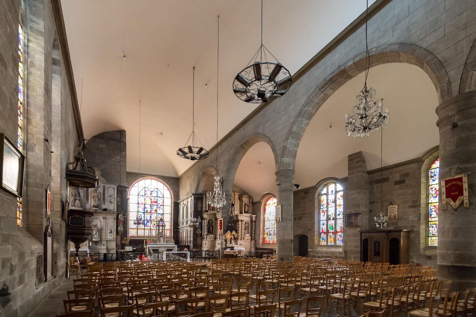 Eglise St Mathurin - Moncontour