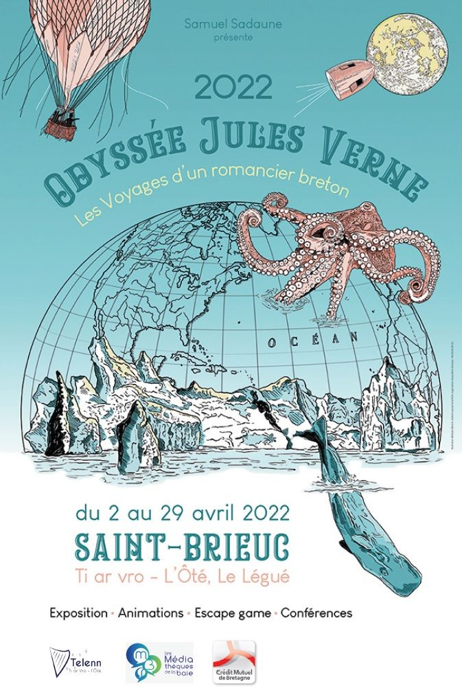 Odyssée Jules Vernes 2022 Saint-Brieuc