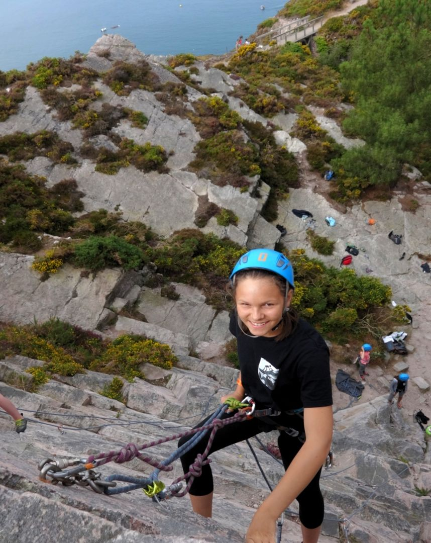 Photo escalade Erquy