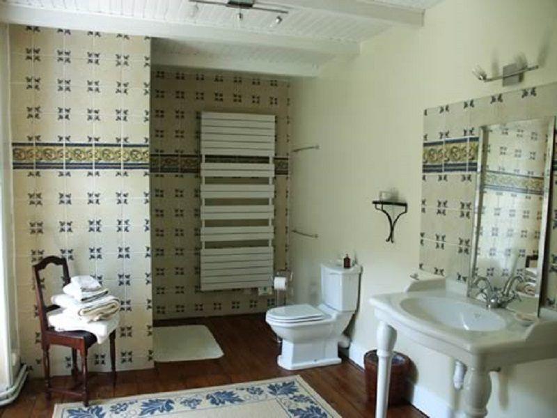 Salle d'eau Chambre Glenmor Manoir le Poul Mellionnec