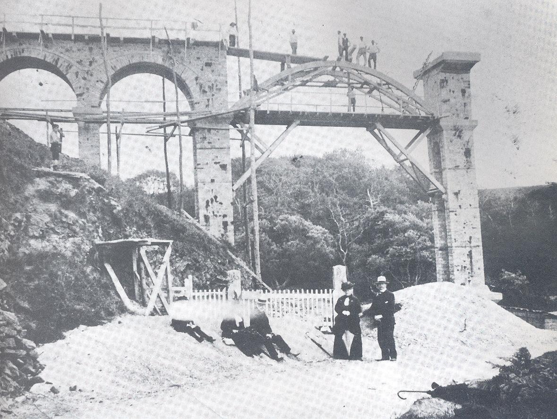 Viaduc de Caroual - Vieille carte postale
