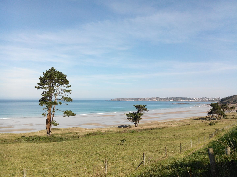 Vue plage Saint-Pabu