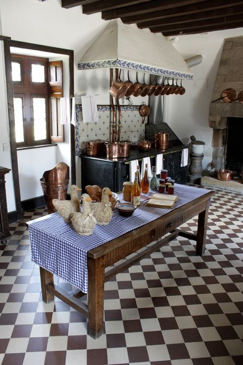château Rosanbo Cuisine XIXème siècle