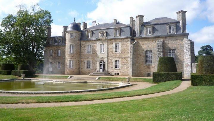 château Rosanbo bassin côté sud Monique Canet