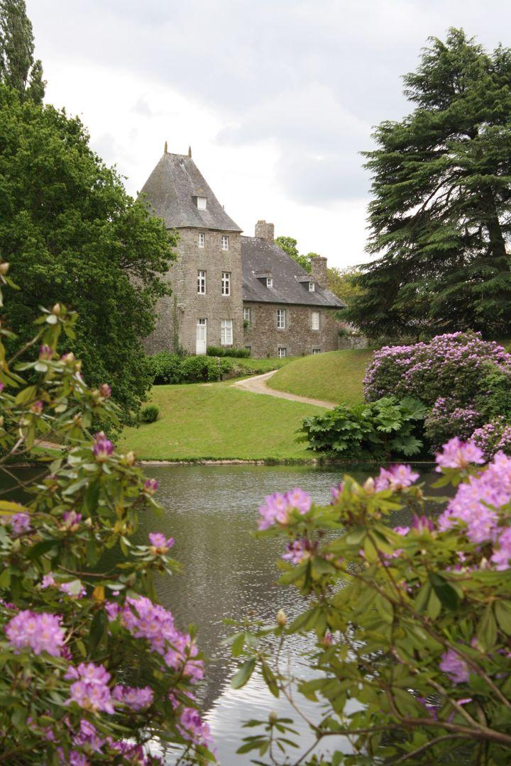 Pays de Moncontour - chateau du colombier-parc