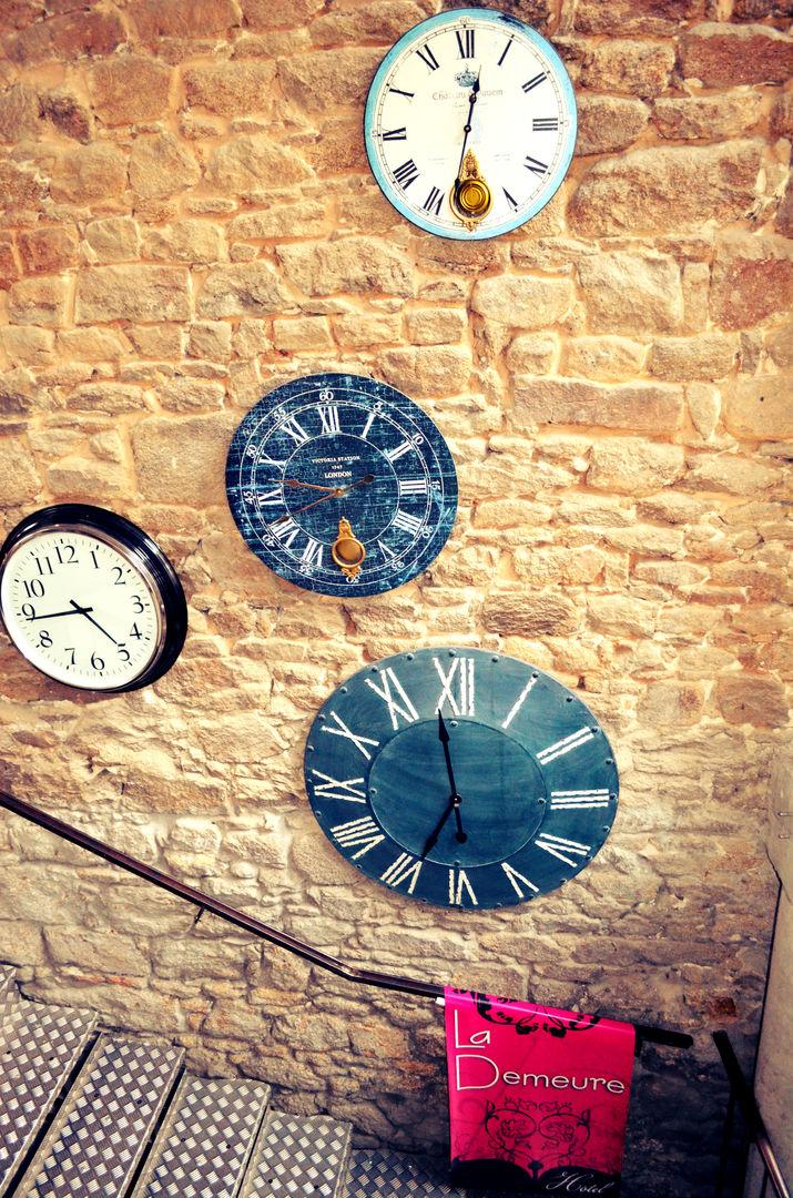 escalier horloge